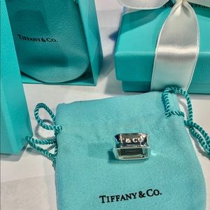 Tiffany & Co. TCO 1837 square ring